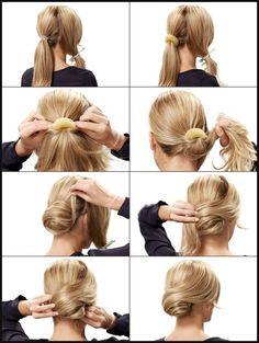 745 best Frisuren und Haarschnitte images on Pinterest | Coiffure ... | Einfache Frisuren
