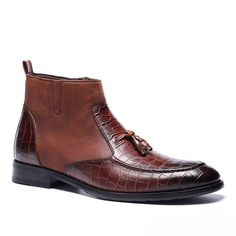 Men's Boots High Quality Retro Leather Boots