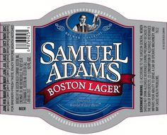 Patriotic Beers for The Fourth  - Samuel Adams Boston Lager label