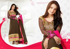 Embroidered Long Dresses Collection 2014 by Reethi Fashion 3 Embroidered Long Dresses Collection 2014 by Reethi Fashion