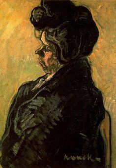 """""""Figura, 1901"""". Óleo sobre lienzo. 73,5 x 54 cms. Colección particular, Barcelona. España."""