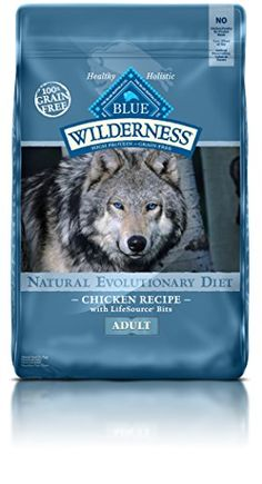 Dry Dog Food - BLUE Wilderness Adult GrainFree Chicken Dry Dog Food 24lb -- Visit the image link more details. (This is an Amazon affiliate link)
