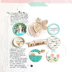 So Sweet Layout by Danielle Flanders for Papertrey Ink (June 2014)