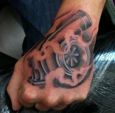 a turbo tattoo