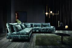 gorący trend ostatnich czasów - tkanina gnieciuch, dostępny w salonie Ekostyl Couch, Sofy, Furniture, Home Decor, Concept, Dinner, Settee, Decoration Home, Sofa