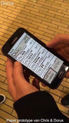 Ons (paper) prototype van de FUNsterdam app getest met 5 willekeurige toeristen in Amsterdam. We hebben meer beeldmateriaal met oa inleidingen en feedback maar dat paste niet binnen de 2 minuten. De belangrijkste momenten hebben we verwerkt in dit filmpje. Links bovenin het filmpje staat aangegeven wie het testen leidde.   Het doel van de testpersoon was om het dichtstbijzijnde hotel te vinden en de pagina van dat hotel te delen op Facebook. Dit kan op 2 verschillende manieren binnen de…