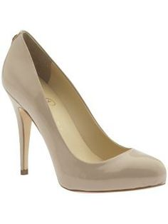 I've been on the hunt for some cute nude pumps that work at the office and out and about with friends. I think this pump may be it!