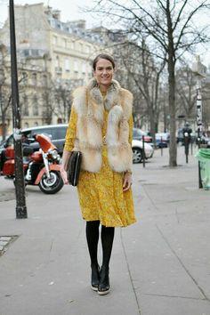 Amarillo en invierno