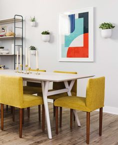 Queer Eye Home Makeover | See how Queer Eye's design expert Bobby Berk made over a hero's home with a whimsical use of color, smart storage solutions and modern West Elm furniture and accessories. Curtains For Sale, Cozy Corner, Kitchen Wall Art, Outdoor Wall Lighting, West Elm, Cozy House, Outdoor Dining, Smart Storage, Eye