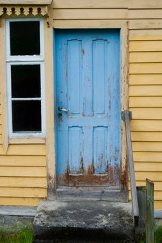Door in Geiranger,Norway