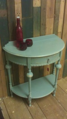 Items similar to Hall Side Table Annie Sloan Duck Egg Blue on Etsy, Diy Abschnitt, Dream Furniture, Funky Furniture, Upcycled Furniture, Furniture Projects, Furniture Makeover, Vintage Furniture, Annie Sloan Painted Furniture, Chalk Paint Furniture, Turquoise Cottage