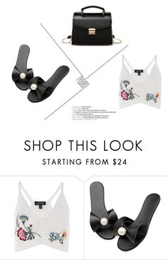 """""""Summer Feels 11"""" by mlaurag0 ❤ liked on Polyvore featuring Topshop"""