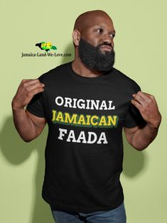 Jamaican Proverbs, Shirt Shop, T Shirt, You Are The Father, Dads, The Originals, Trending Outfits, Mens Tops, Etsy Shop