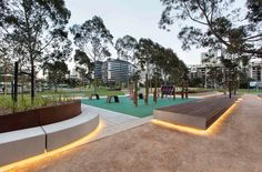 CLEC Site, Docklands Park- Stage 2 by MALA Studio « Landscape Architecture Works | Landezine