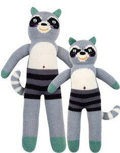 Bandit the Raccoon Blabla doll! I love these dolls but they are pricey! Best lovey for sure!