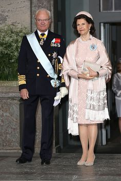 Royal Family Around the World: Christening of Prince Oscar of Sweden at the Royal Chapel in Stockholm on May 27, 2016.