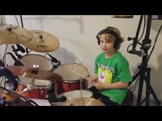 """Chop Suey! by System of a Down Drum Cover by Xander (9 year old) SUBSCRIBE HERE: http://www.youtube.com/c/XanderRipley Xander Ripley (nine year old drummer) covers Chop Suey! by System of a Down. Xander plays a Yamaha Stage Custom Birch (Honey Amber) kit with 22"""" bass 10"""" and 12"""" Rack Toms 16"""" Floor Tom 14"""" Snare and a Zildjian ZBT Starter Box plus a 16"""" Zildjian S Rock Crash. He records using a Shure PGA 7 piece Drum Microphone Kit. The mics are mixed with a Behringer XR18. And his DAW is…"""