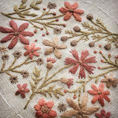 遠い記憶の赤。 #刺しゅう #刺繍 #赤 #ステッチ #atelierdenora