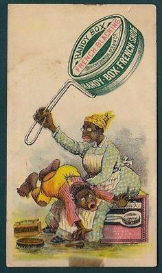 racist vintage ad
