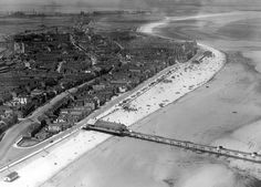 Redcar History and Photographs Yorkshire England, North Yorkshire, Old Pictures, Old Photos, Northern England, Middlesbrough, North Sea, Aerial View, Airplane View