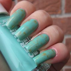 Pee Before Polish: Birthstone Challenge #12: TURQUOISE [Layla CE #83 U.S. of Green]