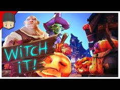awesome Witch It - THE TOWN MAP! (Witch It Gameplay BETA)