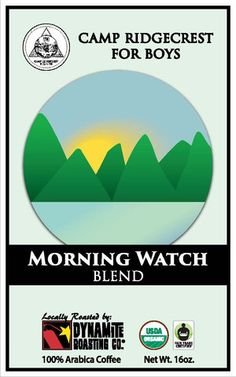 Morning Watch Coffee Blend! 100% shade grown, hand-picked, fully washed, and sun dried. This coffee is a lighter roast that highlights the bean's caramel and citrus notes. It is roasted right here in Black Mountain, NC at Dynamite Coffee. Note that this is a 1 lb. bag which is 25% more than what you receive when purchasing from a grocery store!