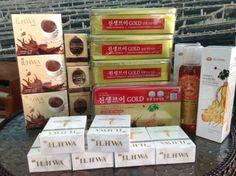 จัดส่งสินค้า. โสมสกัด แพ็กเกจใหม่ โสมเขากวางอ่อน สบู่ น้ำผึ้ง และโลชั่น #korean ginseng #ginsengst #ilhwa