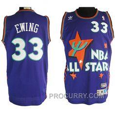 Patrick Ewing 1995 NBA All-Star  33 Soul Swingman Stitched Purple Jersey 253e91e6a