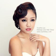 Sophie Lau Makeup and Hair: Lesson