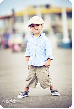 adorable outfit, adorable little boy!