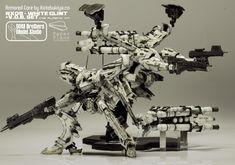 [Armored Core] Kotobukiya 1/72 NX09 White Glint + V.O.B. Set: Work by D&M Brothers Model Studio. Mega Full Photoreview [Closeups too] No.99 Wallpaper Size Images!!! | GUNJAP