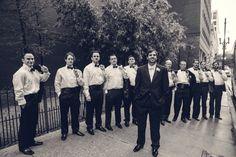 Groomsmen. Black tie wedding. New Orleans. Teresa Terry Photography.