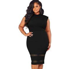 Plus Size Short Sleeve Party Dress 31aedd6b3