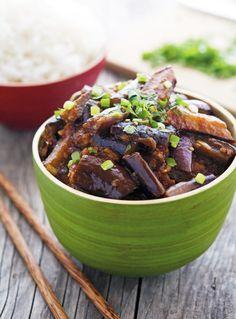 Spicy Vegan Chinese Eggplant