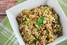 Quinoa and Lentil Salad Recipe - 3 Points +