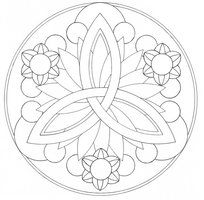 Sun Petal Mandala DOWNLOADABLE by *Quaddles-Roost on deviantART