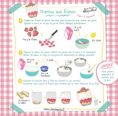 Kids Cooking Recipes, Cooking With Kids, Fun Cooking, Kids Meals, Strawberry Tiramisu, Strawberry Recipes, Drink Recipe Book, Tiramisu Recipe, Little Chef