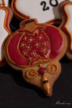 Chinese New Year 2014 - Year of the horse. Royal Icing decorated sugar cookies