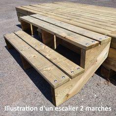 Garden Stairs, Wooden Garden, Outdoor Landscaping, Outdoor Furniture, Outdoor Decor, Hardwood, Rustic, Home Decor, Houses
