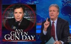 Jon Stewart Tears Into Fox News For Arbitrarily Deciding When And Where People Can Talk About Gun Control  by Josh Feldman | 11:31 pm, December 10th, 2012