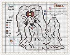 Cross Stitch Charts, Cross Stitch Designs, Pixel Crochet Blanket, Fuse Beads, Hama Beads, Cross Stitch Animals, Plastic Canvas, I Love Dogs, Safari