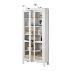 Exceptionnel HEMNES Glass Door Cabinet IKEA Solid Wood. 2 Of These Would Solve The  Age Old Lego Storage Dilemma :)
