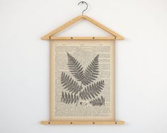 """Printable dictionary print 8x10, 11x14, Fern print vintage, Digital print, Botanical wall art, Fern art, Home wall art, Fern Illlustration.  All dictionary prints: https://www.etsy.com/shop/LizasDictionaryArt  YOU WILL RECEIVE 300dpi RESOLUTION 2 JPG FILES!!!  1 JPG file at 8X10 inches; 1 JPG file at 11X14 inches.  IF YOU PREFER ANOTHER SIZE of this print you may request a custom order and I will resize it. Just press the button """"Request custom order"""", write dimensions and..."""