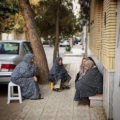 Old ladies in Mashhad,