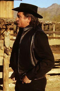 "Film homage, 2000's, Johnny Cash, ""Hurt"" video, 2003, Old Tucson, AZ, 1971"