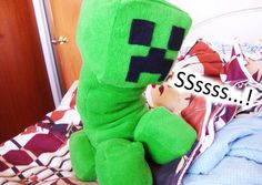 Creeper Plush  A Homemade Minecraft mob plush by ThePixelShop, $29.99