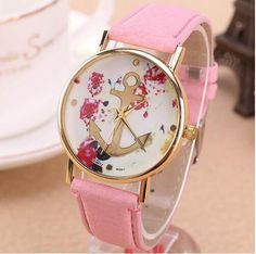 >> Click to Buy << Glod case watch the trend of female waterproof strap leather ladies watch quartz watch women's fashion flower dial Green #Affiliate