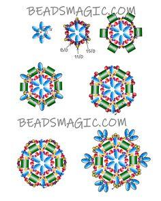 Free pattern for beautiful beaded pendant Antique by Lina Tolstova U need: seed beads Beading Patterns Free, Seed Bead Patterns, Jewelry Patterns, Free Pattern, Bracelet Patterns, Beading Projects, Beading Tutorials, Bead Jewellery, Bead Earrings