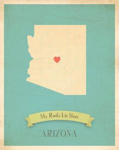 My Roots Lie Here, Arizona